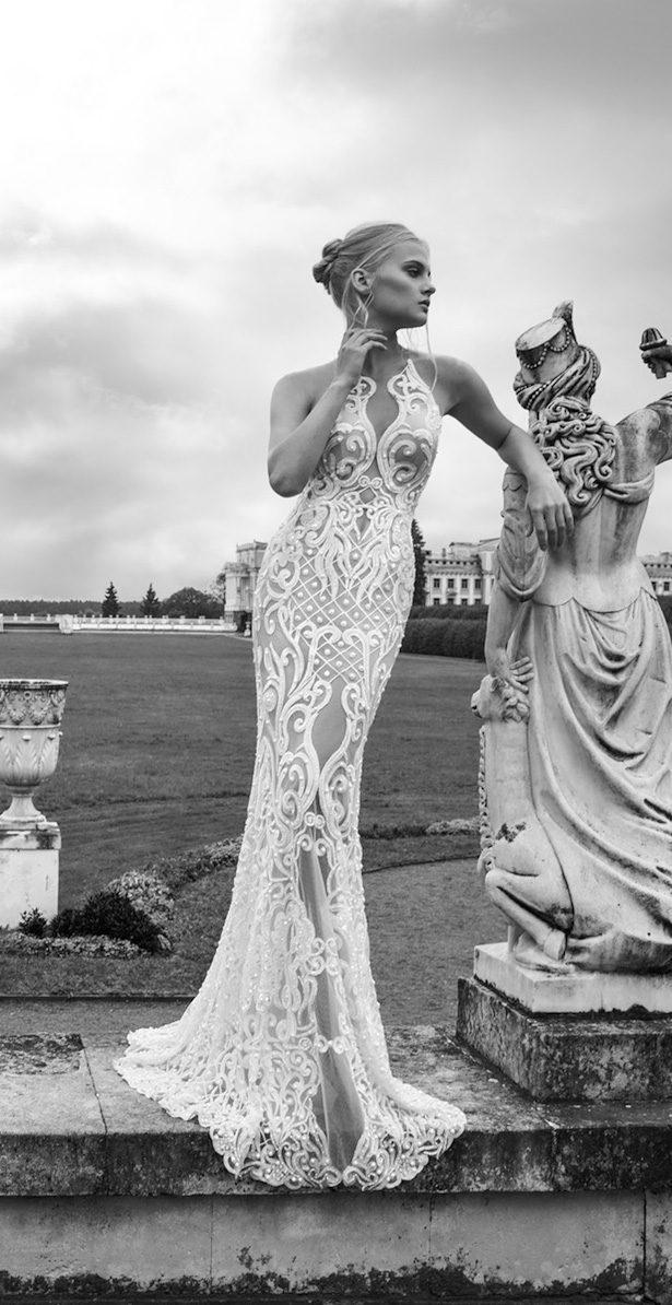 Nurit Hen 2017 Wedding Dress - Ivory & White Bridal Collection