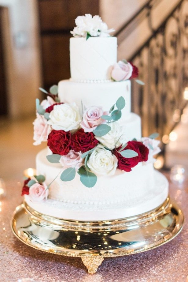18 Floral Wedding Cake Ideas
