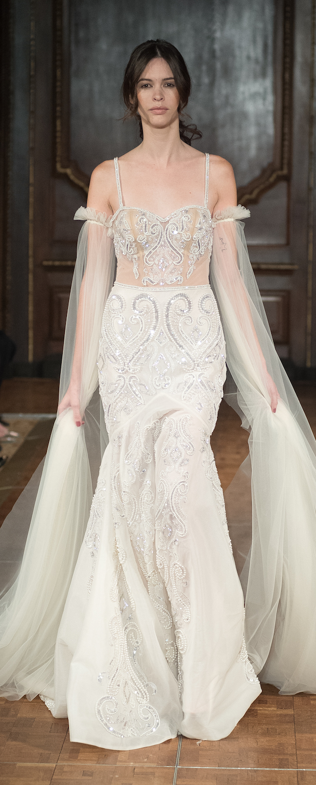 New york bridal week idan cohen 2017 bridal collection for Wedding dress boutiques in nyc