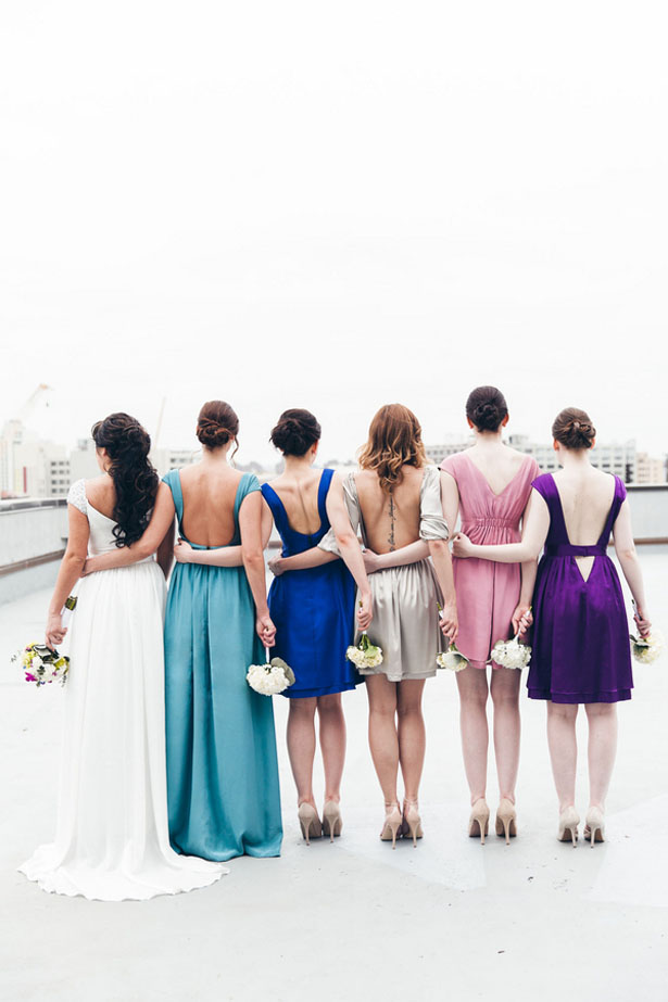 Beautiful bridal party picture - Elvira Kalviste Photography