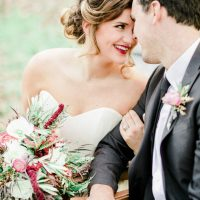 Beautiful bride and groom-portrait - Sharon Nicole Photography
