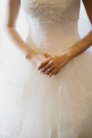 Beautiful detailed bridal dress - OLLI STUDIO
