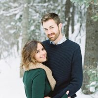 Beautiful engagement portrait - Mallory Renee Photography
