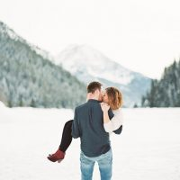 Beautiful utah engagement photo - Mallory Renee Photography