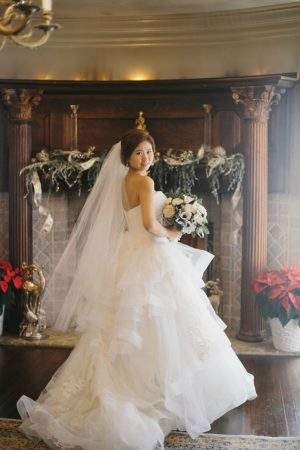 Beautiful wedding dress - OLLI STUDIO