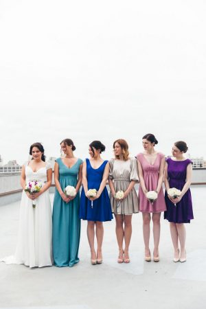 Mismatched bridesmaid dress - Elvira Kalviste Photography