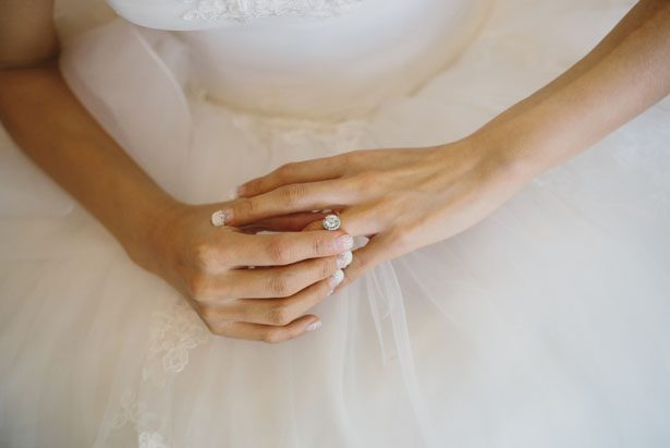 Bridal halo ring - OLLI STUDIO