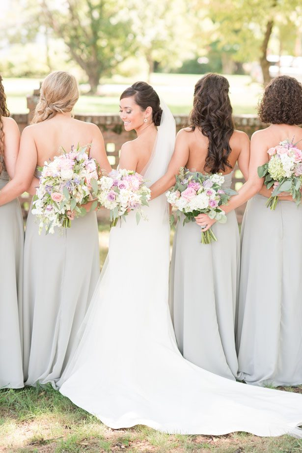 Middle-School Sweethearts Tie The Knot on a Gorgeous Southern Pastel Wedding