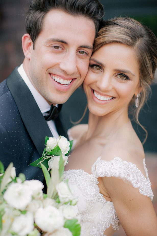 Bride and groom portrait - Clane Gessel Photography
