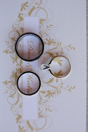 Bride and groom rings - Skyryder Photography, LLC