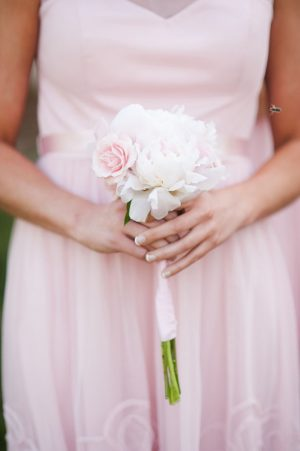 Pink Wedding Bouquet - Skyryder Photography, LLC