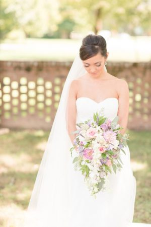 Cascading wedding bouquet - Christa Rene Photography