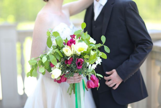 Classic wedding bouquet - Sarah Goodwin Photography