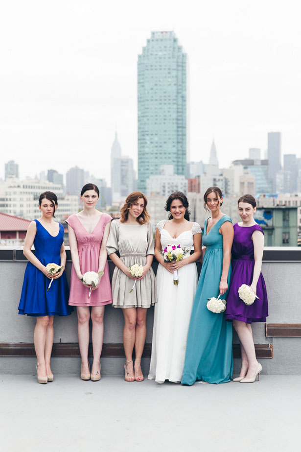 Colorful bridesmaid dresses - Elvira Kalviste Photography