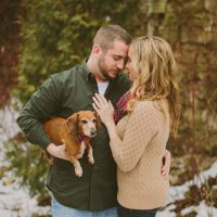 Cute engagement picture - Shaunae Teske Photography