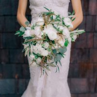 Elegant wedding bouquet - Clane Gessel Photography