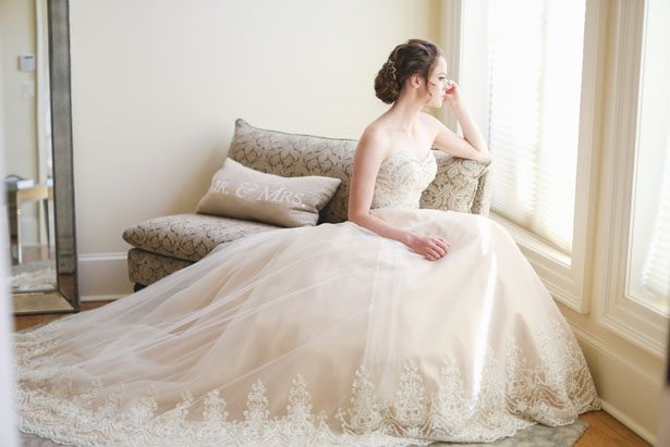 Elegant wedding dress - Sarah Goodwin Photography