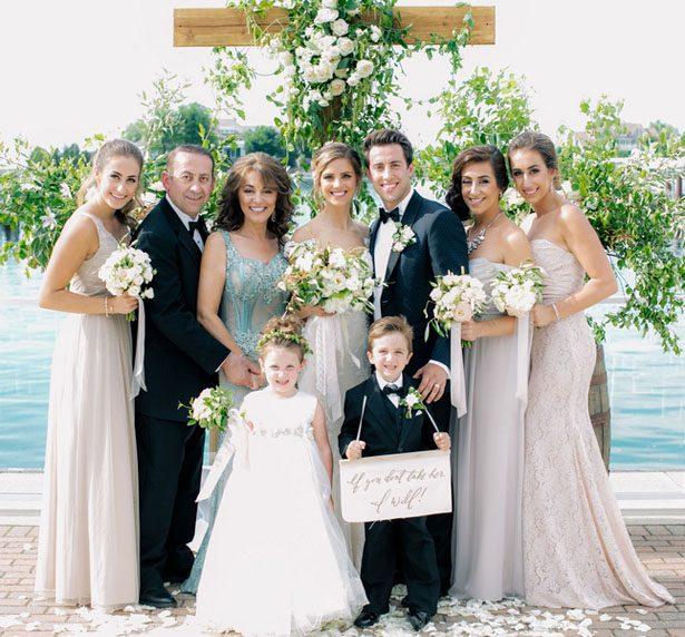 Family wedding portrait - Clane Gessel Photography