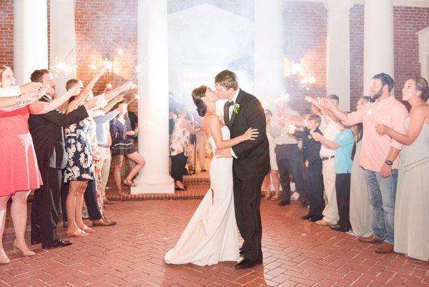 Wedding Exit - Christa Rene Photography