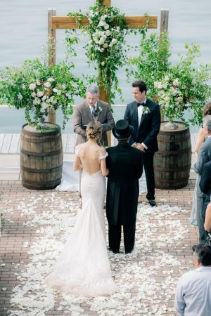 Walking daown the aisle - Clane Gessel Photography