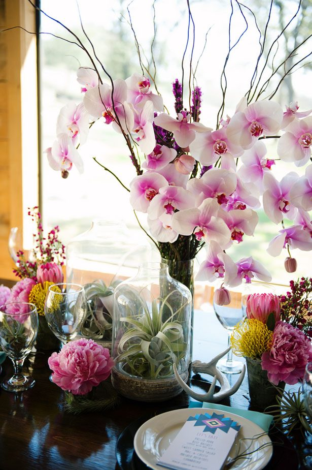 Orchid Wedding Centerpiece - Jenna Leigh Wedding Photography