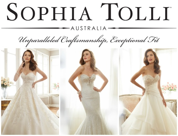 Wedding Dresses by Sophia Tolli Spring 2017 Bridal Collection