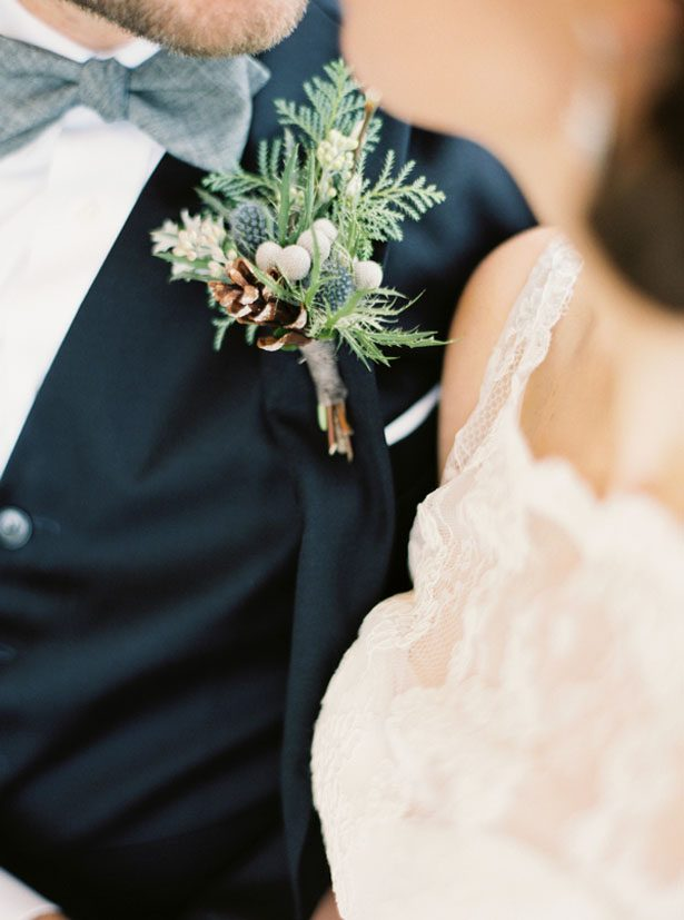 Groom boutonniere - Shandi Wallace Photography