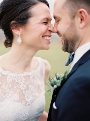 Happy bride and groom - Shandi Wallace Photography