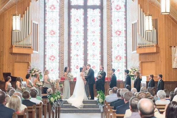 Indoor wedding picture - Christa Rene Photography