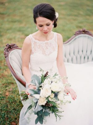 Lace wedding dress - Shandi Wallace Photography