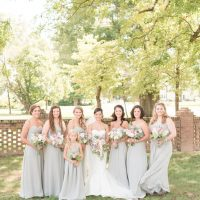 Long bridesmaid dresses - Christa Rene Photography