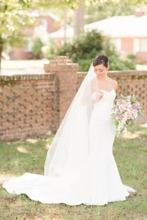 Mermaid bridal dress - Christa Rene Photography