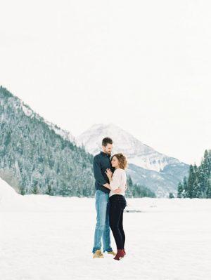 Outdoor engagement portrait ideas - Mallory Renee Photography