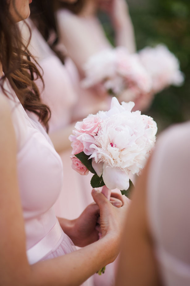Pink bridesmaid bouquet - Skyryder Photography, LLC