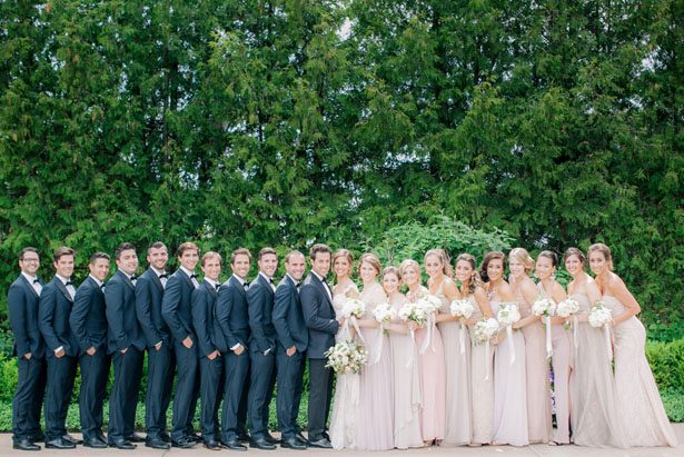Pink bridesmaid dresses - Clane Gessel Photography