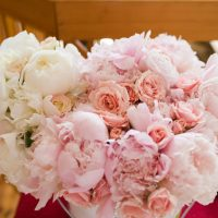Pink wedding flowers - Skyryder Photography, LLC