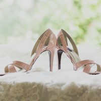 Pink wedding heels - Studio De Jonge