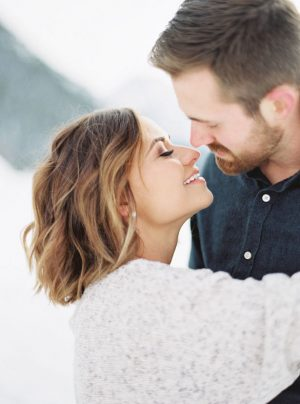 Romantic engagement photo inspiration - Mallory Renee Photography