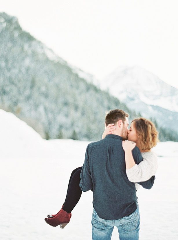 Romantic engagement portrait inspiration - Mallory Renee Photography