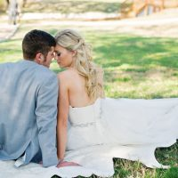 Romantic wedding portrait - Jenna Leigh Wedding Photography
