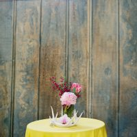 Rustic wedding centerpiece - Jenna Leigh Wedding Photography