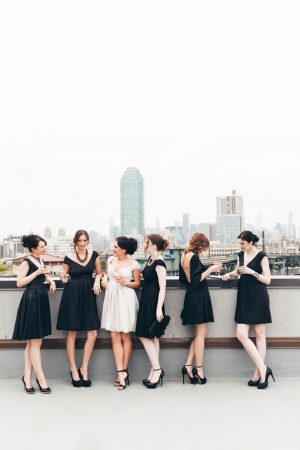 Short bridesmaid dresses - Elvira Kalviste Photography