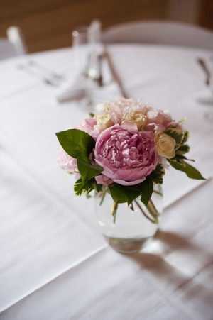 Small wedding centerpiece - Skyryder Photography, LLC