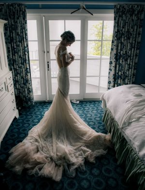 Sophisticated bridal portrait - Clane Gessel Photography