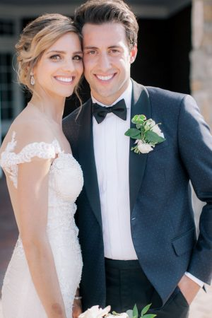 Sophisticated bride and groom photo - Clane Gessel Photography