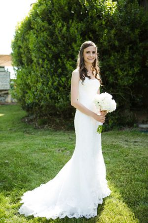 Strapless wedding dress - Skyryder Photography, LLC