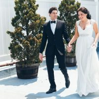 Stylish bride and groom - Elvira Kalviste Photography