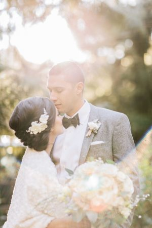 Sun shine wedding photo - Jennifer Fujikawa Photography