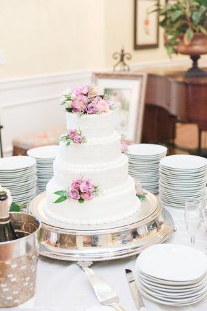 Tall wedding cake - Christa Rene Photography