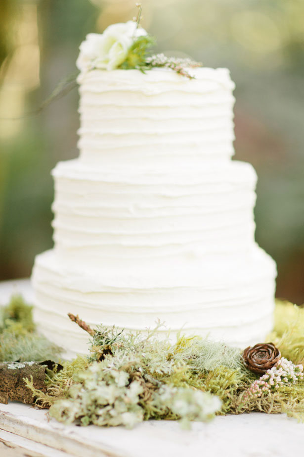 Tall wedding cake - Jennifer Fujikawa Photography